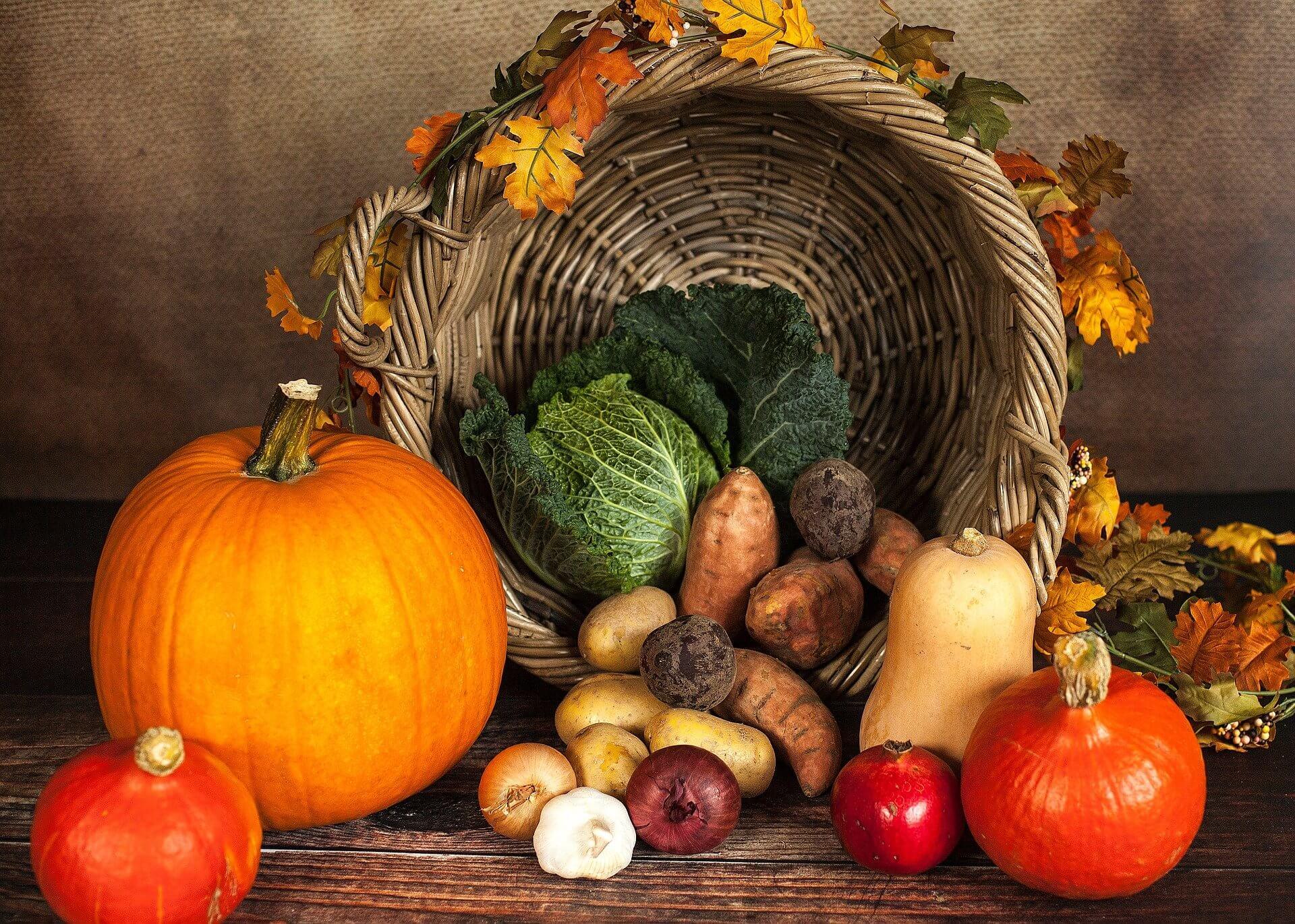 Les légumes et accompagnements